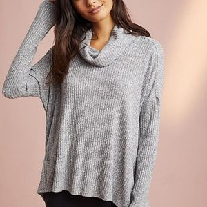 Anthropologie Saturday Sunday M / L Gray Sweater